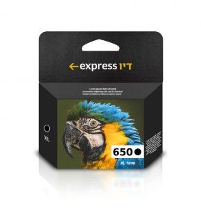 דיו שחור תואם למדפסת HP 650