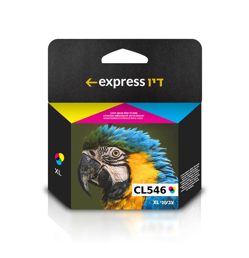 דיו צבעוני תואם למדפסת Canon CL-546XL