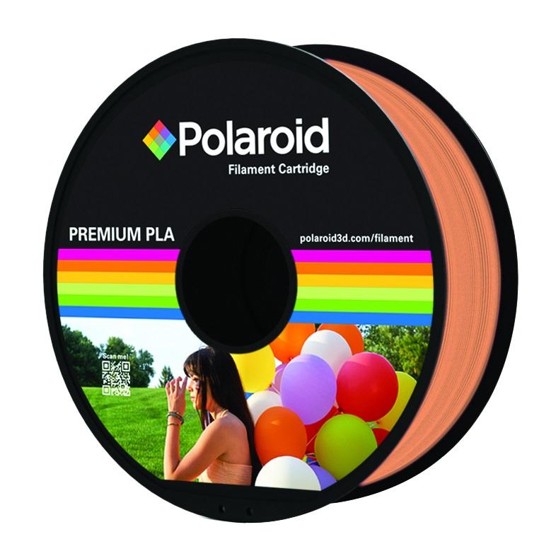 """סליל מקורי פרימיום כתום PLA במשקל 1 ק""""ג Polaroid 3D Premium"""