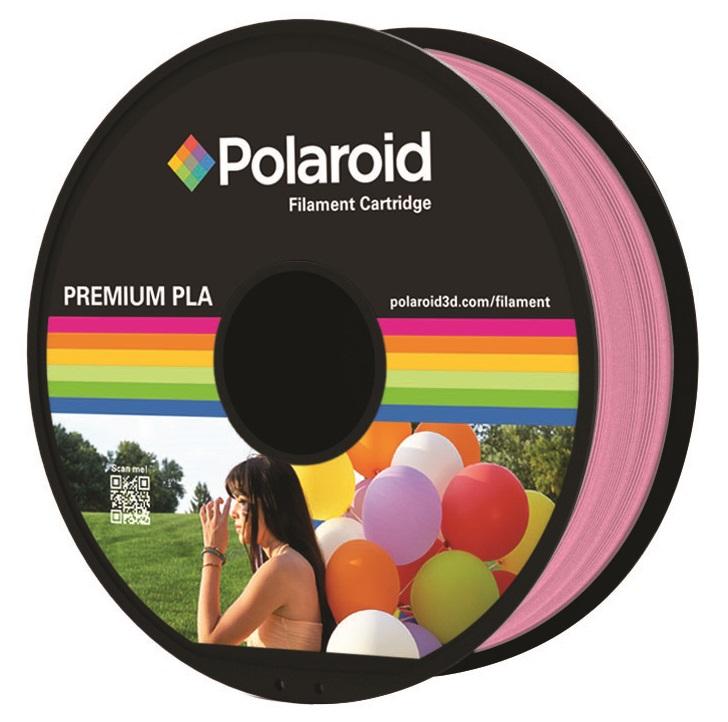 """סליל מקורי פרימיום ורוד PLA במשקל 1 ק""""ג Polaroid 3D Premium"""