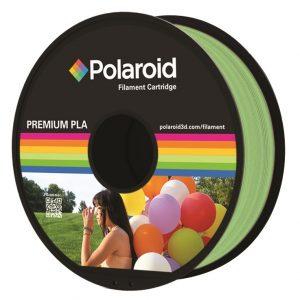 """סליל מקורי פרימיום ירוק בהיר PLA במשקל 1 ק""""ג Polaroid 3D Premium"""