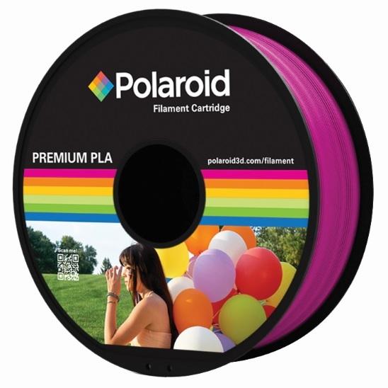 """סליל מקורי פרימיום מג'נטה PLA במשקל 1 ק""""ג Polaroid 3D Premium"""