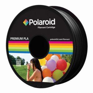 """סליל מקורי פרימיום שחור PLA במשקל 1 ק""""ג Polaroid 3D Premium"""