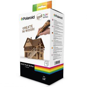 עט תלת מימד יצירה בעץ Polaroid 3D + שלושה סלילים מתנה