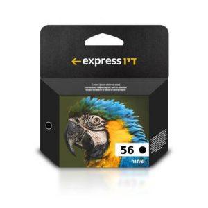 דיו שחור תואם למדפסת HP 56 C6656A