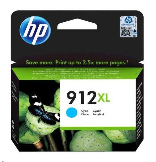 דיו כחול מקורי למדפסת HP 912XL 3YL81AE