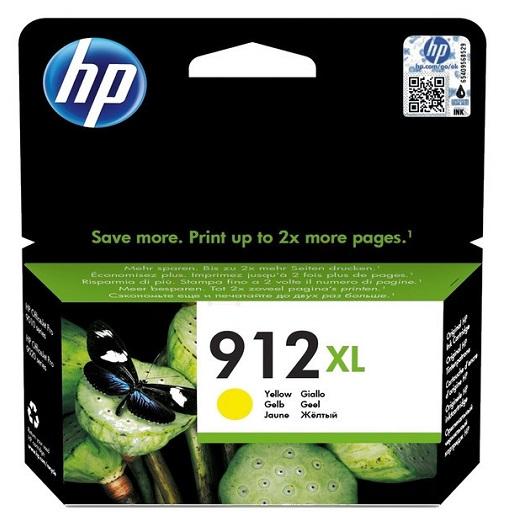 דיו צהוב מקורי למדפסת HP 912XL 3YL83AE