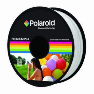 """סליל מקורי פרימיום לבן PLA במשקל 1 ק""""ג Polaroid 3D Premium"""