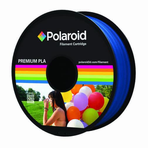 """סליל מקורי פרימיום כחול PLA במשקל 1 ק""""ג Polaroid 3D Premium"""