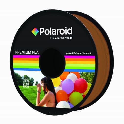 """סליל מקורי פרימיום חום PLA במשקל 1 ק""""ג Polaroid 3D Premium"""