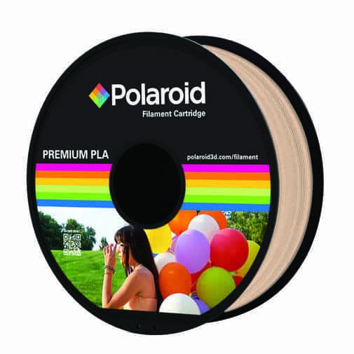 """סליל מקורי פרימיום צבע גוף PLA במשקל 1 ק""""ג Polaroid 3D Premium"""