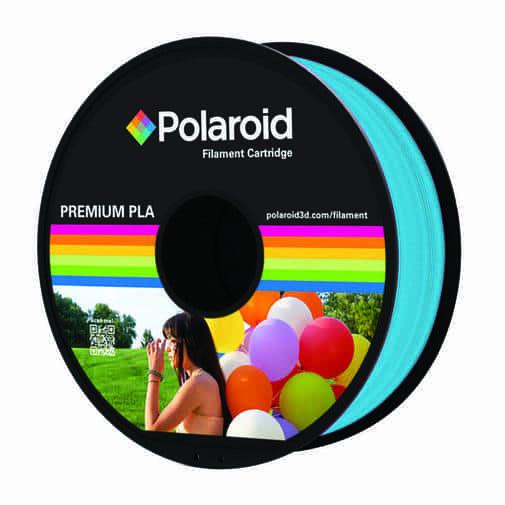 """סליל מקורי פרימיום כחול בהיר PLA במשקל 1 ק""""ג Polaroid 3D Premium"""