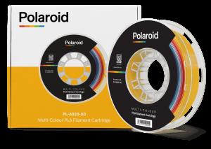 """סליל מקורי פרימיום רב-צבעי PLA במשקל 0.5 ק""""ג Polaroid 3D Premium"""