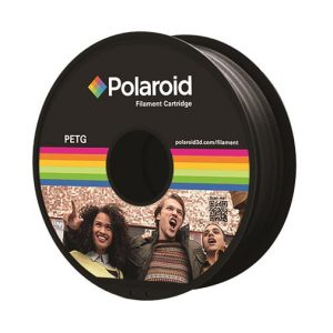 """סליל מקורי פרימיום שחור PETG במשקל 1 ק""""ג Polaroid 3D Premium"""