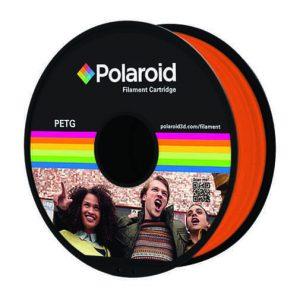"""סליל מקורי פרימיום כתום PETG במשקל 1 ק""""ג Polaroid 3D Premium"""