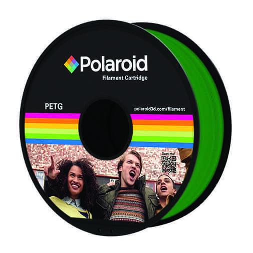 """סליל מקורי פרימיום ירוק PETG במשקל 1 ק""""ג Polaroid 3D Premium"""
