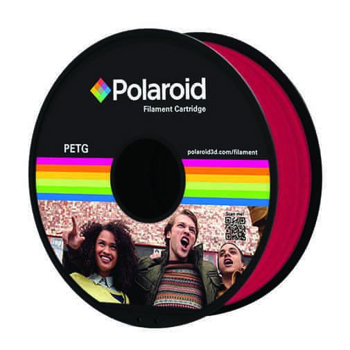 """סליל מקורי פרימיום מג'נטה PETG במשקל 1 ק""""ג Polaroid 3D Premium"""