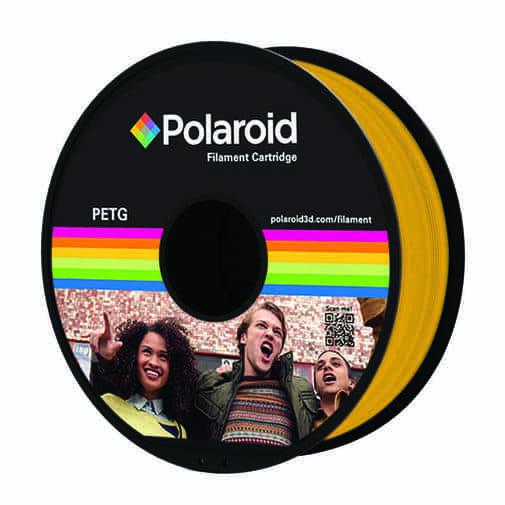 """סליל מקורי פרימיום בגוון זהב PETG במשקל 1 ק""""ג Polaroid 3D Premium"""
